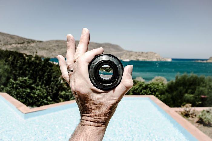 Focus Beautiful Surroundings Lens 50mm Landscape Crete Greece