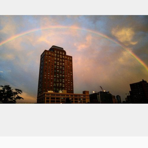 Rainbow Hanging Out Taking Photos Smartphonephotography NYC Photography Brooklyn Heading Home Downtown Brooklyn NYC Quiet Moments