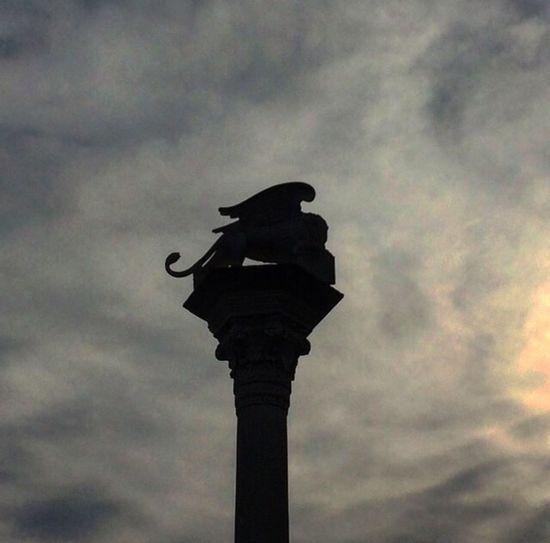 Lion Sky Silhouette Statue Architecture Animal Themes Vicenza Italy Leone Leonedisanmarco