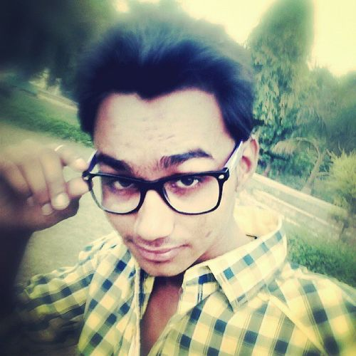 Selfie ;) :* At Company_Garden Etawah U .P India