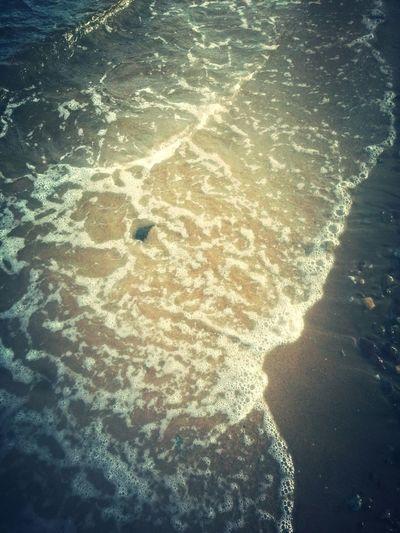 On The Beach Sand Ocean Waves Taking Photos