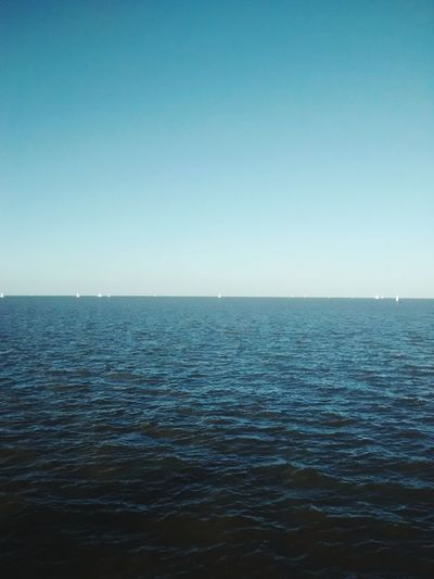 Horizon Over Water Scenics Outdoors Clear Sky
