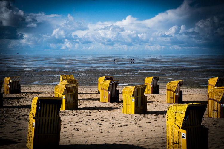 cuxhaven Cuxhaven Beach Beauty In Nature Cloud - Sky Horizon Horizon Over Water Land Nature Northsea Outdoors Scenics - Nature Sea Sky Tranquil Scene Water