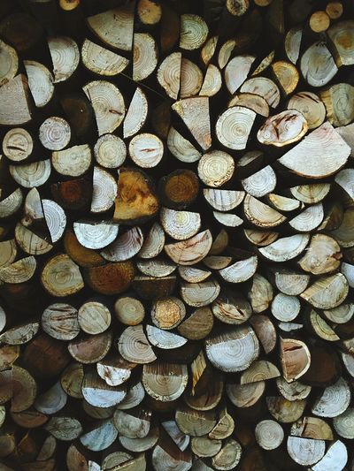 Winter fuel - logs for the fire! Stack Log Timber Woodpile No People Outdoors Logs Log Pile Log Storage Split Logs Wood Burning Stove