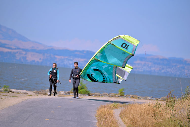 Kiteboarding In San Mateo 1 Kite Surfing Wind Power Sail Power Sport Watersports Colorful Sails Aquatic Sports Kite Surfers Enjoying Life