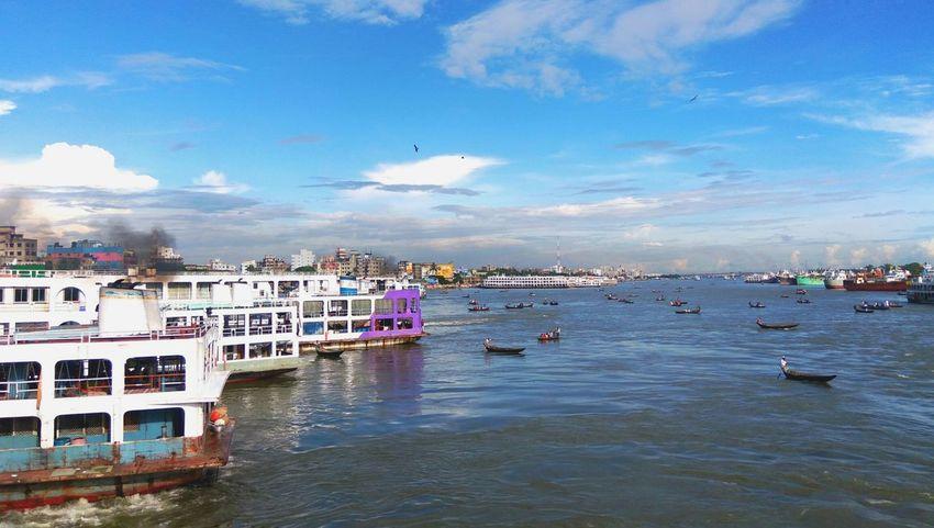 River Bangladesh Diaries Sea Water Sky Bangladesh 🇧🇩 Landscape Dhaka, Bangladesh