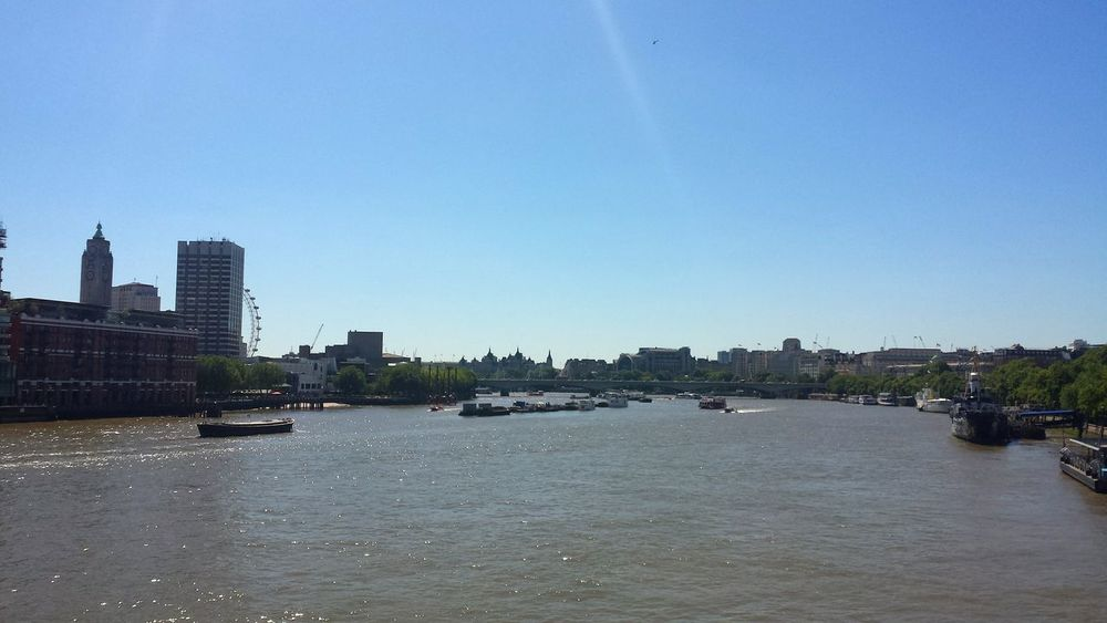 River View Cityscape LONDON❤