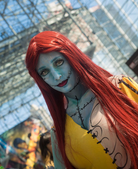 Alice Cosplay Cosplayer New York Comicon Nightmarebeforechristmas NYCC NYCC2015