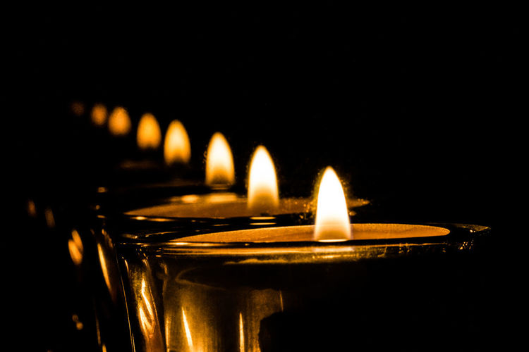 Candle reflections Burning Candle Candle Light Darkness And Light Fire Flame Learn & Shoot: After Dark Reflection Spiegelung Spirituality Multplication Multiplikation Propagation