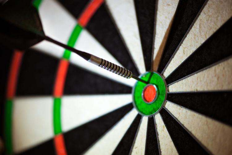 Full frame shot of sports target