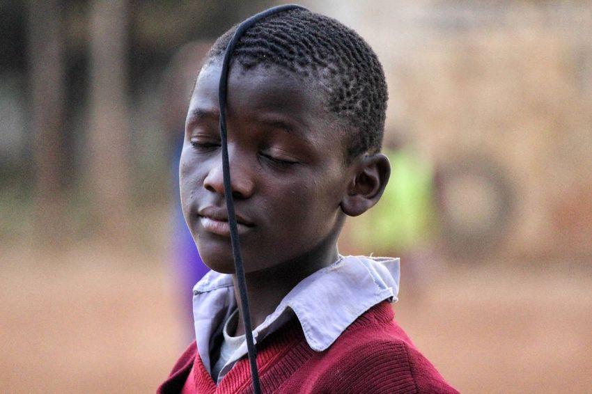 Hassan. Childhood Kenya Children Canonphotography Canon Playing Children Photography Children Portraits Africa Kibera Nairobi The Portraitist - 2016 EyeEm Awards Color Photography Child