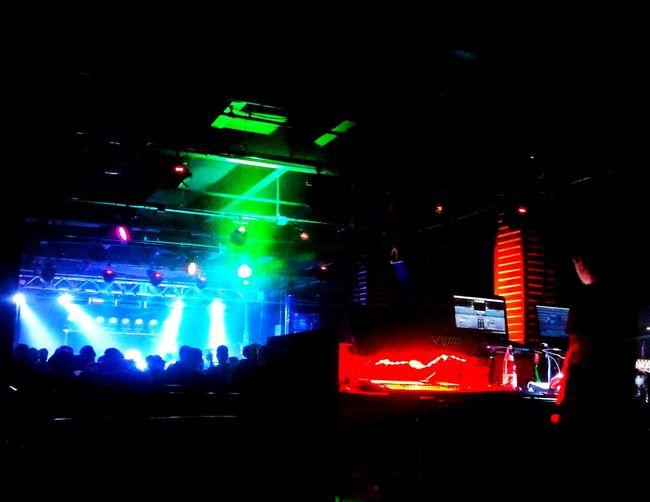 Illuminated Night Lighting Equipment Neon Nightclub Multi Colored Concert Photography Bass Physics Magic Stick Detroit Green Color Spotlight Music People And Places Sunsquabi