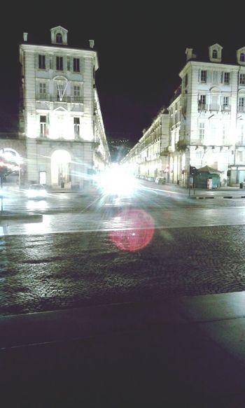 Torino Strade Streets Luci Lights Shadows