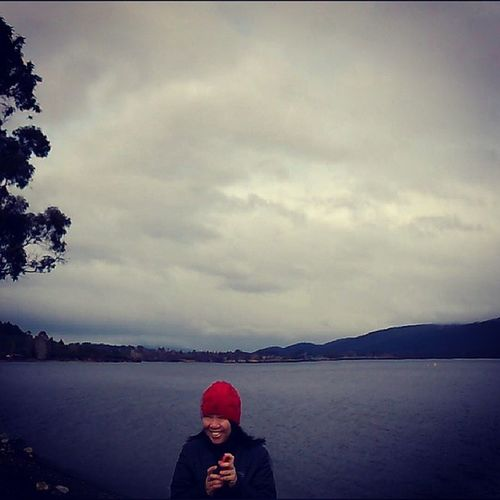 It was still Drizzling over at Sombre Lake TeAnau the next morning, marking over 30hours of continuous rainfall