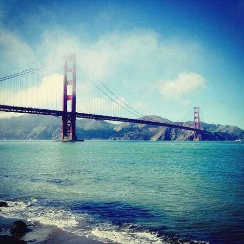 My Favourite Place Fresh On Eyeem  San Francisco Golden Gate Bridge