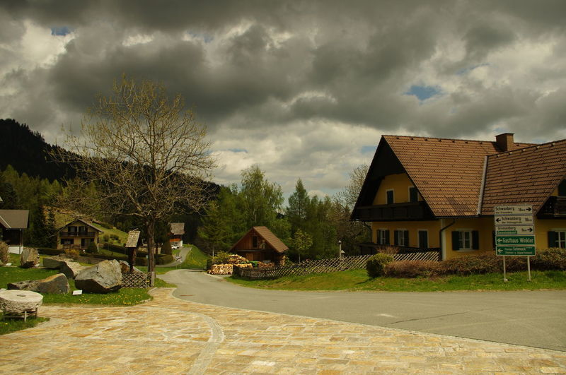 Galshütten vallage, Austria Alps Architecture Austria Building Exterior Built Structure Cloud - Sky Cloudy Cloudy Day Day Detached House Dorf Dramatic Sky Eastern Alps EyeEmNewHere Grey Sky Himmel House Mountain Village No People Outdoors Sky Storm Cloud Tree Village Österreich