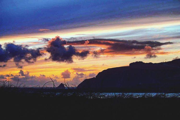 Sunset over the Star Wars set in Ceann Sibeal, Kerry Star Wars Ceann Sibeal Sunset 43 Golden Moments Kerry Ireland Dingle Peninsula Ireland Dingle Seascape Landscape Ireland Irish Landscape Kerry Ireland, Dingle Bay