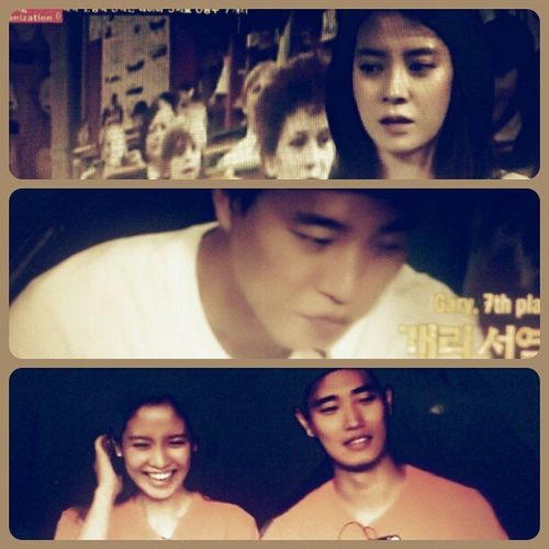 Adore this Monday Couple;) Songjihyo KangGary Runningman