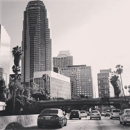 Downtown LA Intrafficfor6hours Ilovecali IhateLAtraffic Gladimhome