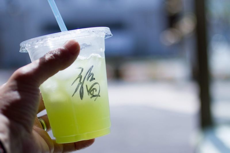 Japanese Culture Fukudamakotophotography フクダマコトフォトグラフィー Japanesetea Japanese Food Green Tea Tea Human Hand Holding Human Body Part Hand One Person Focus On Foreground Body Part Real People Close-up Food And Drink Drinking Straw Day Finger Lifestyles Straw Healthcare And Medicine