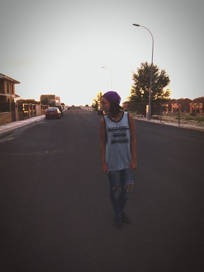 everything has changed... Street Fashion Walking Around Shine Turn Up Sunset Taking Photos Tumblr ♡  Tumblrgirl