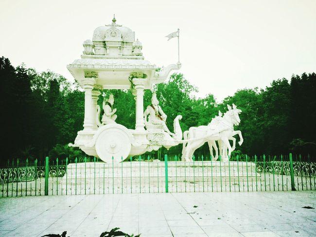 Sri Krishna God God Is Great. Gods Beauty Battel War Hourse Riding White Color White Album Outdoors Day Animal Themes Mammal