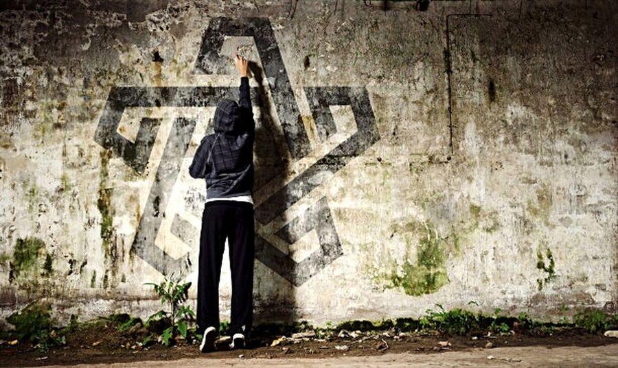 Graffiti Graffitti Paint Thug
