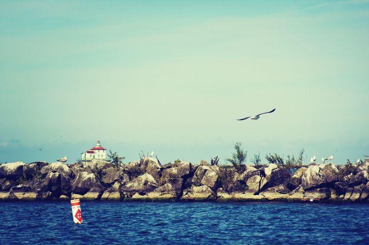 Ashtabula County Lighthouse Lake Erie