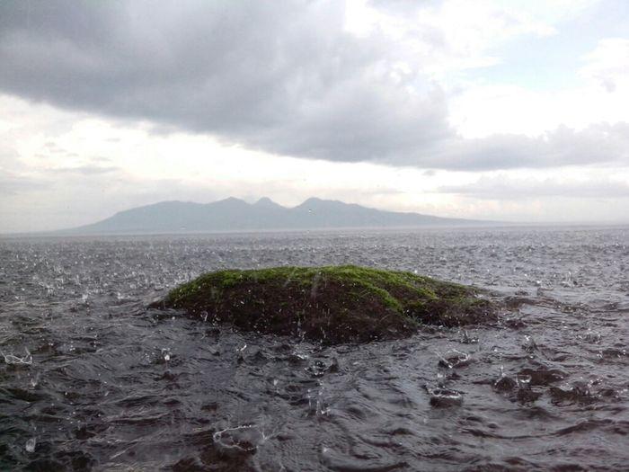 Sea Beach Rain Strait