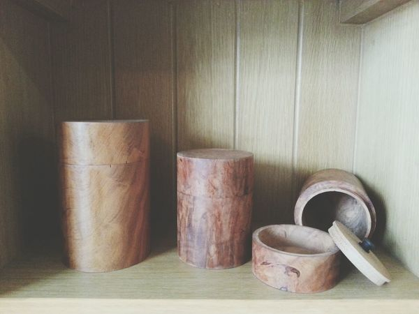 Wooden tea caddies with air tight inner lids. Real wood. Tin Tea Tea Lover