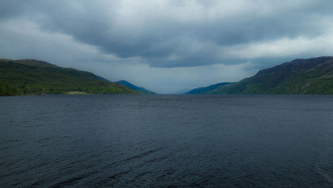 Loch Ness Beauty In Nature Beauty In Nature Cloud - Sky Cloudy Cultures Day Landscape Loch  Loch Ness Mountain Nature Nessie No People Ominous Outdoors Scenics Scotland Sky Storm Cloud Tranquil Scene Tree United Kingdom Water