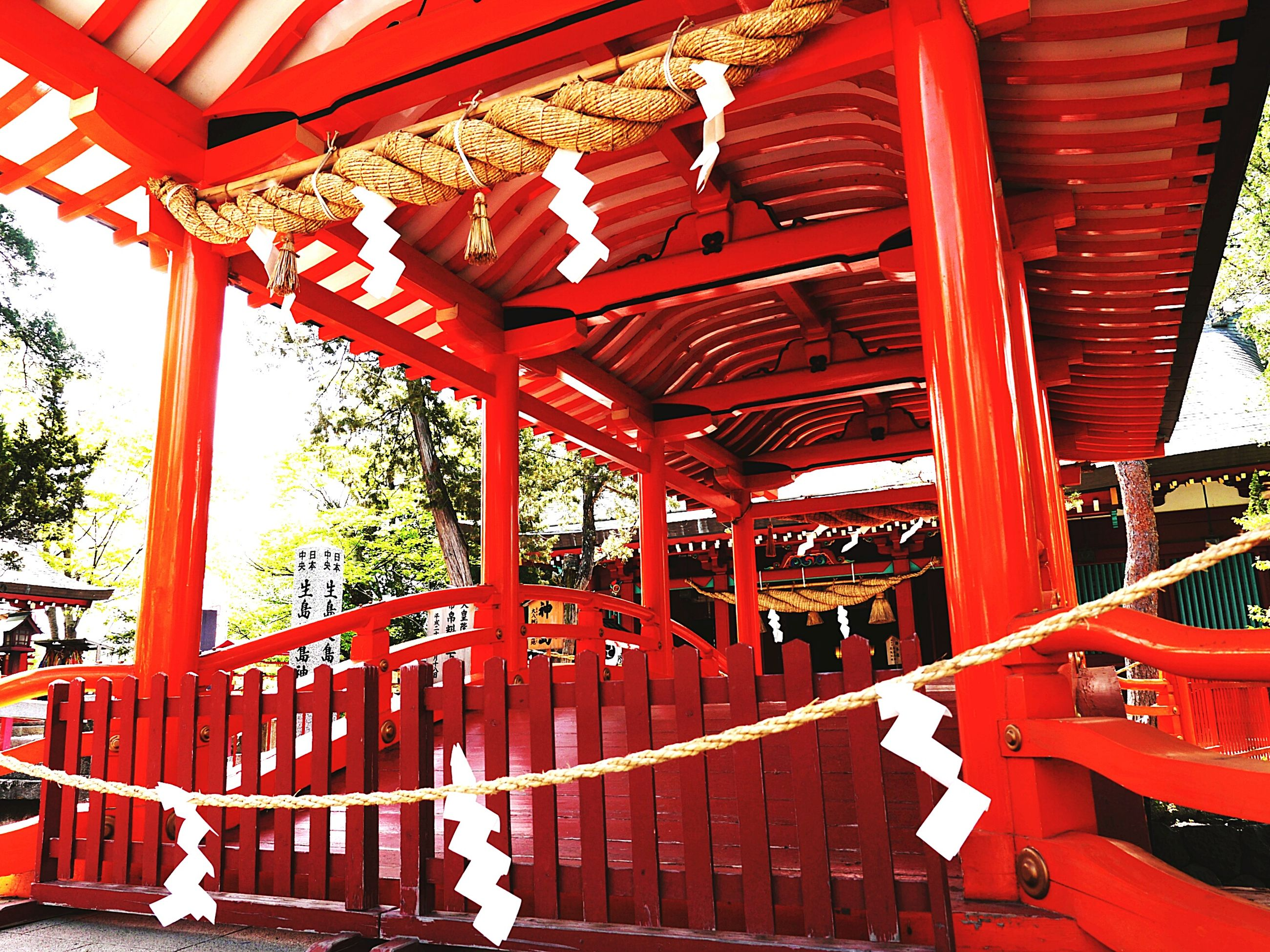 red, built structure, architecture, architectural column, famous place, travel, travel destinations, low angle view, temple - building, history, railing, tourism, metal, religion, place of worship, spirituality, day, steps, culture