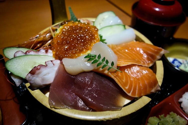 ASIA Japan Japan Photography Japanese Food Japanese Culture Food Foodphotography Restaurant Fish Sashimi  Bowl Food And Drink Close-up Healthy Eating Ready-to-eat Still Life Seafood Asian Food Caviar