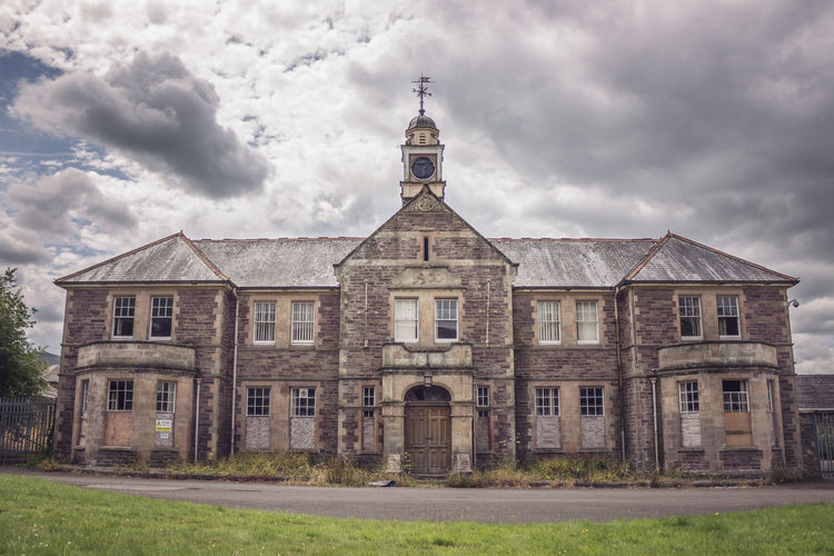 Asylum Decay Mental Hospital  Talgarth Asylum Urban Exploring Wales Abandoned Abandoned Buildings Architecture Building Exterior Built Structure Cloud - Sky No People Old Outdoors Residential Building Ruined Sky Urbex Window