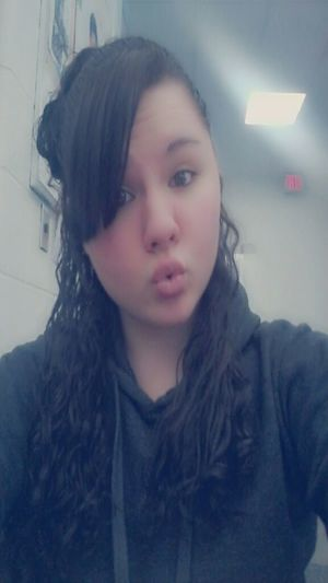 At School Curly Hair! Kisses