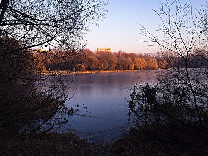 Ice Lake View Nature Walking Autumn Colors Traveling EyeEm Nature Lover Nature_collection TerraTravelClubRussia Sunset