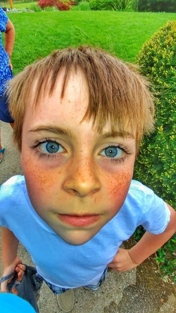 Looking At Camera Child Boys Childhood Headshot Children Only One Person One Boy Only Elementary Age Real People Males  Human Face Human Eye Close-up Lexington Kentucky  Spring Photography Looking At Camera I Wont Smile Break The Mold Breaking Bad Cuteboy Freckles The Great Outdoors - 2017 EyeEm Awards The Portraitist - 2017 EyeEm Awards Neighborhood Map