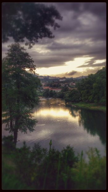 Sky And Clouds River Home Sweet Home City #Amarante