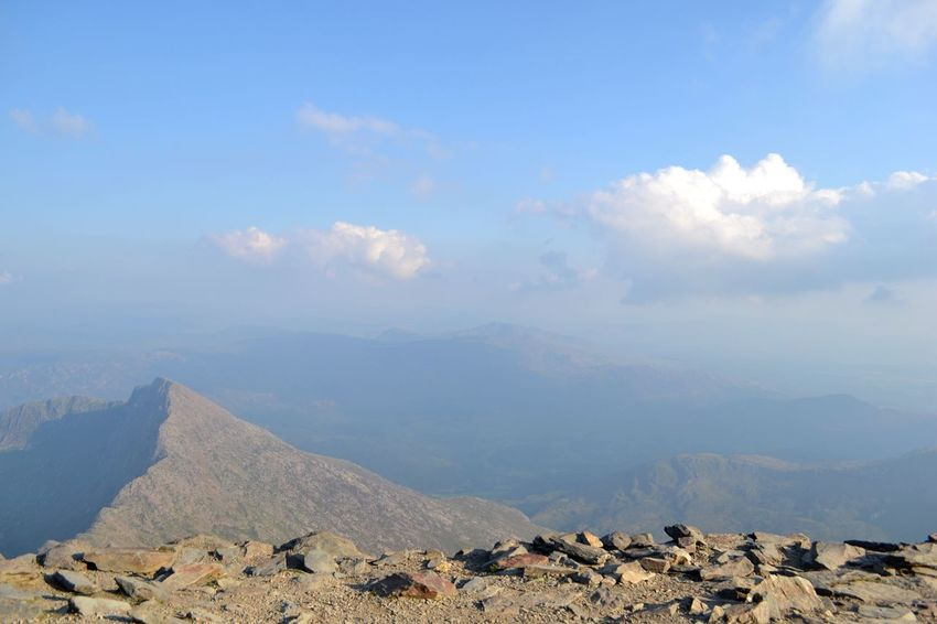 Snowdonia Wales Mountain Heights Snowdon North Wales Summit View