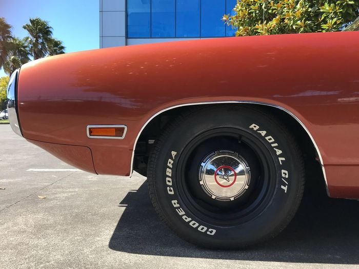 1970 Dodge Coronet 440 R/T R/t Coronet Bee 1970 Dodge Transportation Land Vehicle Mode Of Transport Day Tree No People Red Tire Close-up