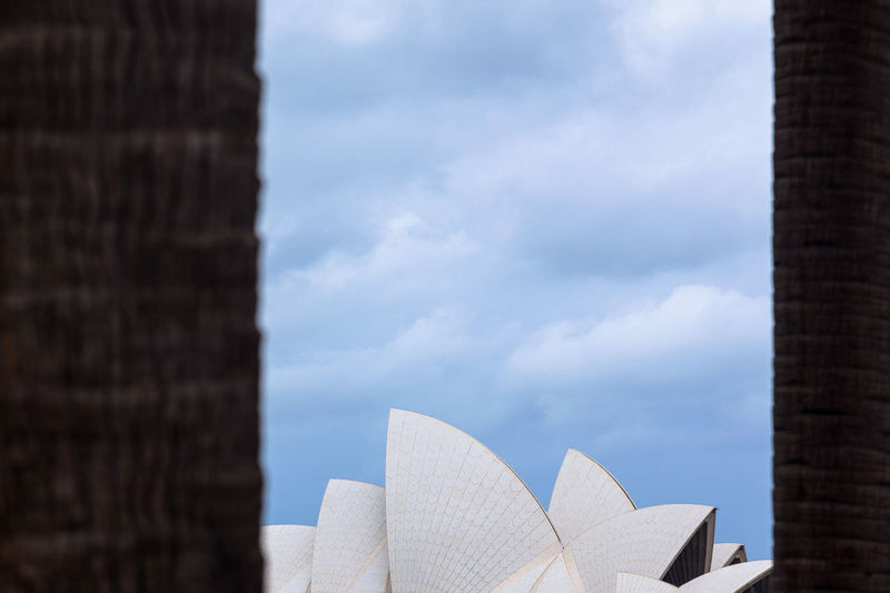 Sydney Opera House, Sydney, Australia Built Structure Architecture Sky Building Exterior No People Day Nature City Outdoors Landscape Minimalist Architecture Minimalist Sydney Opera House Sydney Australia Travel Destinations Landmark Travel