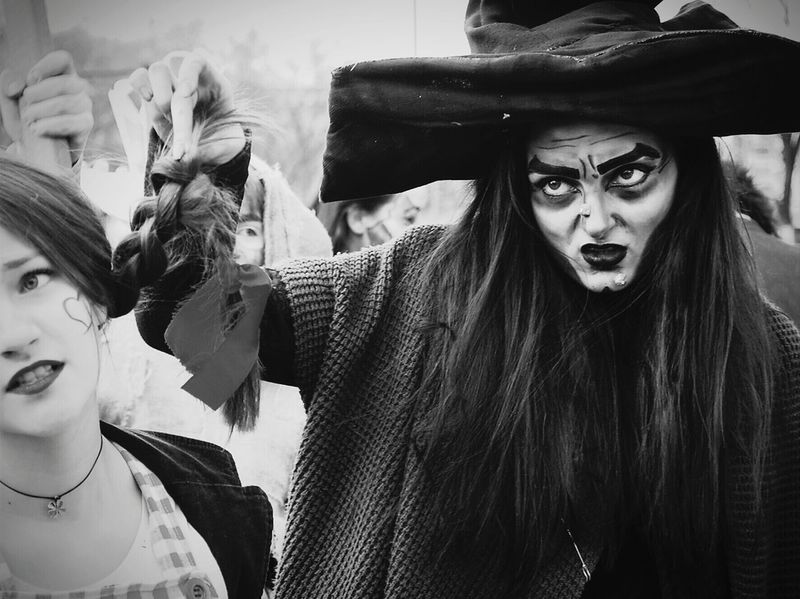 Eye Em Best Shots -Black +White Blackandwhite Photography Streetphotography Monochrome Taking Photos Mask_collection Portrait Of A Woman Carnival Bulgaria The Human Condition