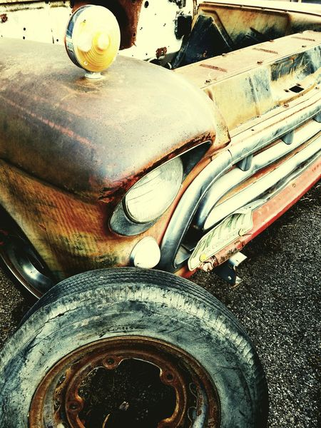 Beyond repair. Tucson Az Mypassion Shooting Photos MyPhotography Forgotten Beauty In Ordinary Things Outdoors Eyeofthebeholder Brokendreams Oldtruck Jalopy Broken Down Entropy Decay Chevy Flattire Lowrider Engine Headlight Grill NoHope Beyondrepair Oldtimey Cellphone Photography Vato