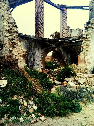only debris that were once household Architecture Forefathers MyPhotography Valencia Landscapes