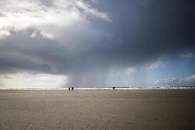 Balticsea Dramatic Sky Beach Beauty In Nature Cloud - Sky Day Landscape Nature Ocean Outdoors People Sand Scenics Sea Sky Thunderstorm