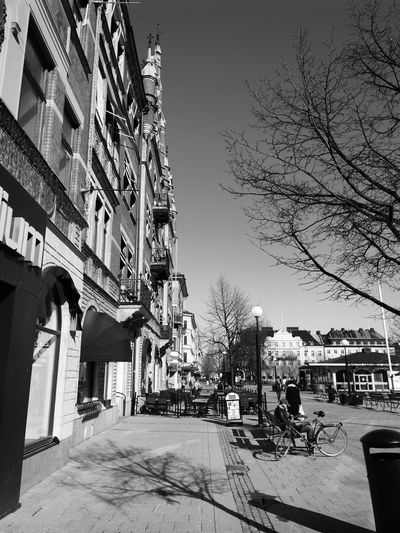 Sundsvall Stenstan Mate 9 Pro Blackandwhite City Architecture