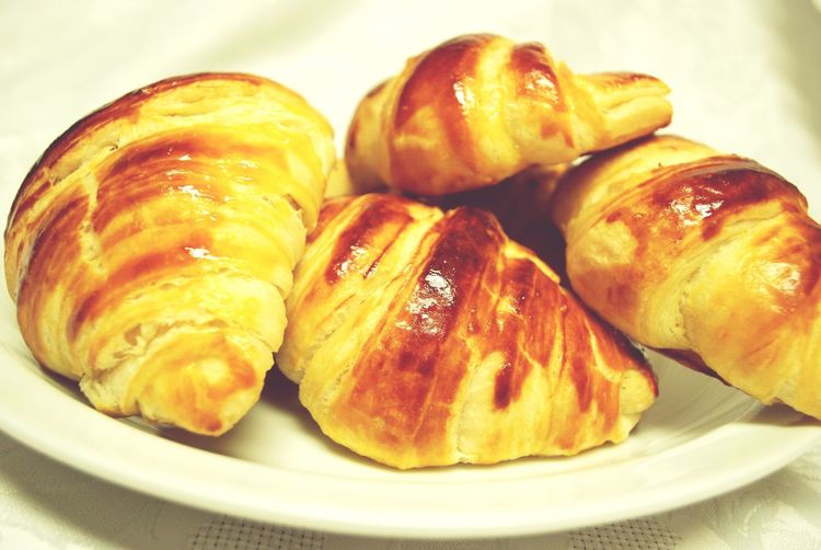 My World Of Food Croissants Food Homemade Baking French Table Temptation