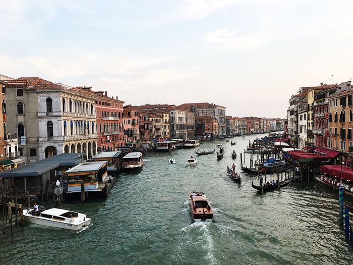 Rialto bridge Architecture Nautical Vessel Building Exterior Water Built Structure Canal Transportation Travel Destinations Mode Of Transport Outdoors Day Sky Residential Building Moored Gondola - Traditional Boat No People City Rialto Bridge Venice Italy Your Ticket To Europe The Week On EyeEm Investing In Quality Of Life Sunset Lost In The Landscape Adventures In The City