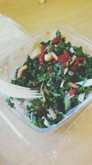 Greatwaytostartmyworkmorning Startthedayright Superfood Salad Acaifruit