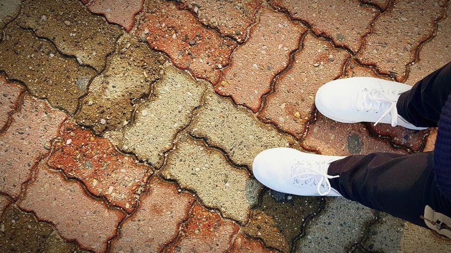 Keep walking... Kotd Travel Korea Korea2017 Bricks Shoes Note To Self Skechers SkechersPH